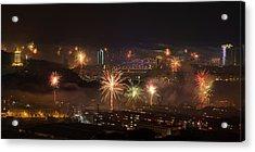Chinese New Year Fireworks 2018 I Acrylic Print