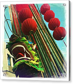 Chinese New Year Acrylic Print by Nina Prommer