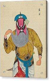 Chinese Opera Acrylic Print