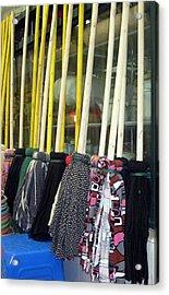 Chinese Rag Mops Acrylic Print