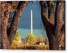 Chinook Smokestack Acrylic Print