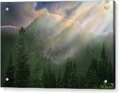 Chinook Vista Acrylic Print by Robert Bewick