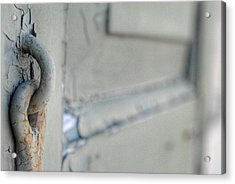 Chipped Latch Acrylic Print