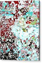 Chipped Wall 1 Acrylic Print