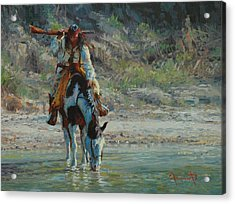 Chiracahua Acrylic Print by Jim Clements