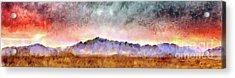 Chiricahua Acrylic Print by Harry Ridgway