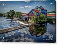 Chisolm's Mills Acrylic Print