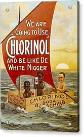 Chlorinol Acrylic Print