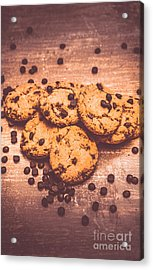 Choc Chip Biscuits Acrylic Print