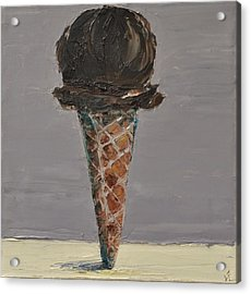 Chocolate Cone Acrylic Print by Lindsay Frost
