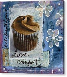Chocolate Cupcake Love Acrylic Print