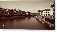 Acrylic Print featuring the photograph Chocolate Florence by Joseph Westrupp