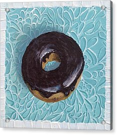 Chocolate Glazed Acrylic Print
