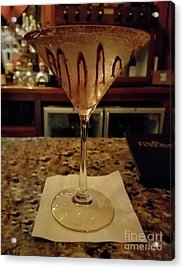 Chocolate Martini Acrylic Print by Jeff Breiman