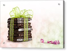Chocolate Acrylic Print by Nailia Schwarz