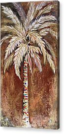 Chocolate Palm Acrylic Print