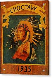 Choctaw 1935 Acrylic Print