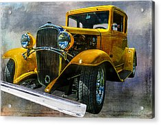 Choice Chevy Acrylic Print by Tom Pickering of Photopicks Photography and Art