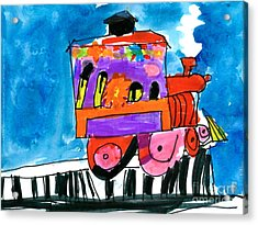 Choochoo Train Acrylic Print