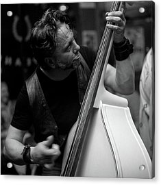 Chops On Bass Acrylic Print by Chad Schaefer
