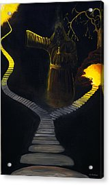 Chosen Path Acrylic Print by Brian Wallace