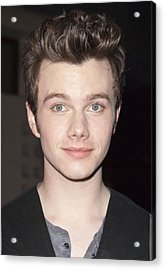Chris Colfer At Arrivals For American Acrylic Print by Everett