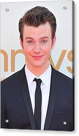 Chris Colfer At Arrivals For The 63rd Acrylic Print