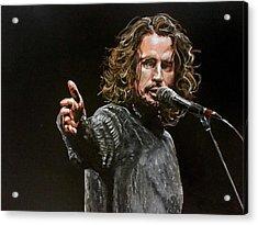 Chris Cornell Acrylic Print