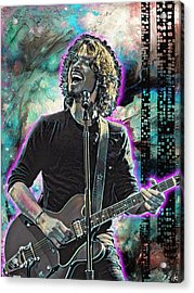 Chris Cornell - Outshined Acrylic Print