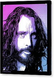 Chris Cornell Tribute Acrylic Print