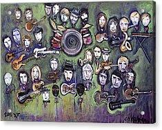 Chris Daniels And Friends Acrylic Print