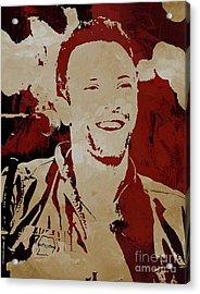 Chris Martin Coldplay Acrylic Print