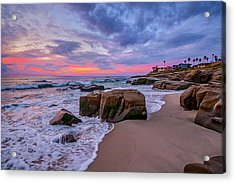 Chris's Rock Acrylic Print by Peter Tellone