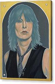 Chrissie Hynde Acrylic Print