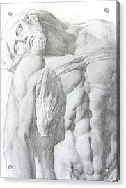 Christ 1a Acrylic Print by Valeriy Mavlo
