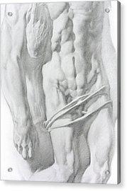 Christ 1b Acrylic Print by Valeriy Mavlo