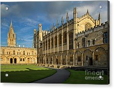 Acrylic Print featuring the photograph Christ Church College II by Brian Jannsen