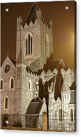 Christ Church Dublin Ireland Acrylic Print by Henri Irizarri