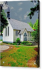 Acrylic Print featuring the photograph Christ Church by Rod Wiens