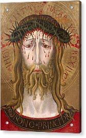 Christ Crowned With Thorns  Acrylic Print by Benedetto Bonfigli