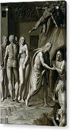 Christ In Limbo Acrylic Print