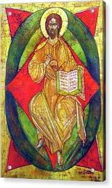 Christ In Majesty I Acrylic Print by Tanya Ilyakhova