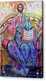 Christ In Majesty II Acrylic Print by Tanya Ilyakhova