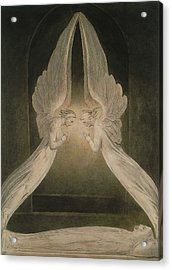 Christ In The Sepulchre, Guarded By Angels Acrylic Print