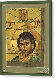 Christ Of Maryknoll - Rlcom Acrylic Print