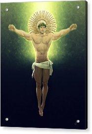 Christ Of Renewable Energy Acrylic Print