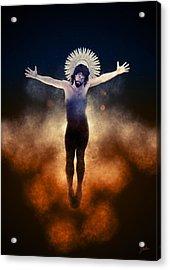 Christ Of The Cosmos Acrylic Print