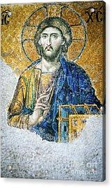 Christ Pantocrator Acrylic Print by Dean Harte