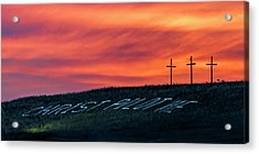 Acrylic Print featuring the photograph Christ Pilot Me Hill by Rob Graham