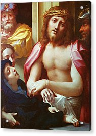 Christ Presented To The People Acrylic Print